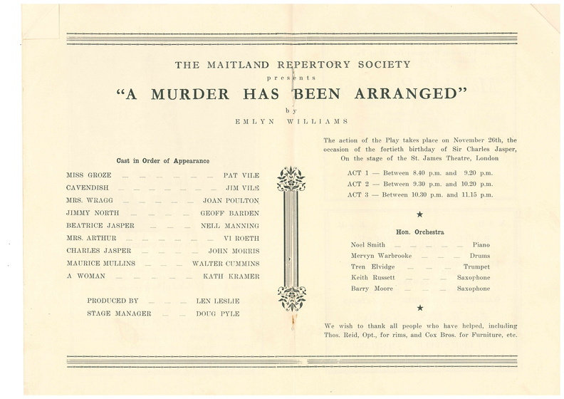 A Murder Has Been Arranged Prog2